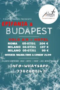 Epifania a Budapest da 99 €