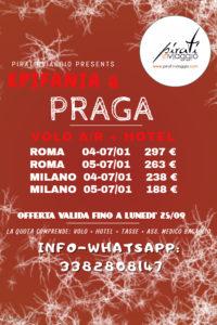Epifania a Praga da 188 €