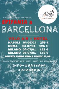 Epifania a Barcellona da 172 €