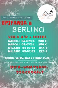 Epifania a Berlino da 229 €