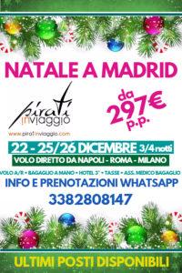 Natale a Madrid da 297€
