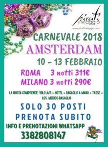 Carnevale ad Amsterdam da 254€
