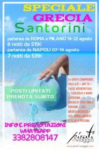 Agosto a Santorini da 519€