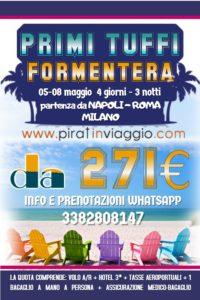 Primi Tuffi – Formentera da 271€