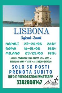 Lisbona da 188€