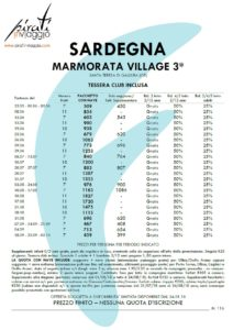 Marmorata Village 3* – Santa Teresa di Gallura (OT)