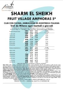 Fruit Village Amphoras 5* – Sharm El Sheikh