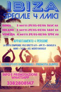 Ibiza – Speciale 4 amici da 148€