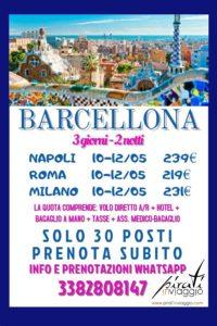 Barcellona da 219€