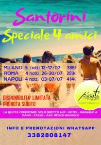 Santorini – Speciale 4 amici da 338€
