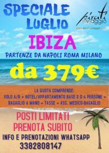 Ibiza da 379€
