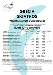 Skiathos da 599€