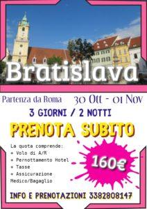 Halloween a Bratislava da 160€