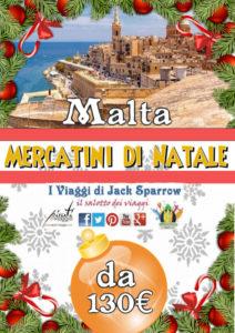 Mercatini di Natale a Malta da 100€