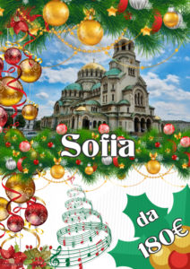 Mercatini di Natale a Sofia da 180€