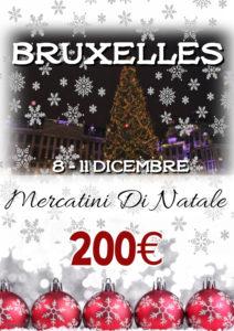 Mercatini di Natale a Bruxelles da 200€