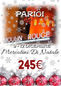 Mercatini di Natale a Parigi da 245€