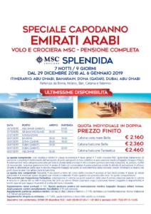 Capodanno in Crociera negli Emirati Arabi da 2160€