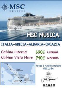 Ponte del 2 Giugno – Msc Musica da 690€