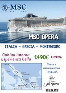 Crociera Msc Opera da 745€