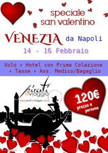 Venezia la Città dell'Amore da 120€ a San Valentino