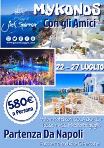 La Tua Vacanza con gli Amici – Mykonos da 580€