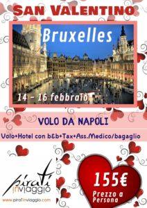 San Valentino a Bruxelles da 155€