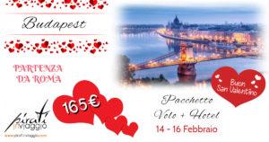 San Valentino a Budapest da 165€