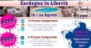 Ferragosto in Hotel 4* in Sardegna da 820€