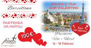 Salva il tuo San Valentino da 190€