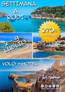 1 Settimana In Grecia – Rodi da 270€