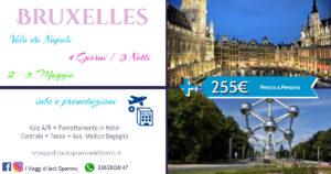 4 Giorni a Bruxelles da 255€