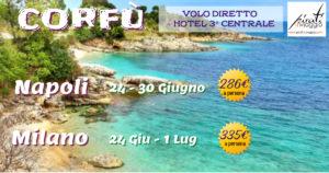 Summer 2019 – Corfù da 286€