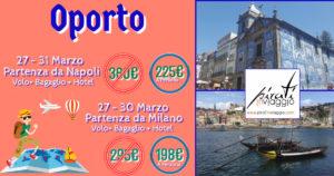 Week End Lungo a Porto da 198€