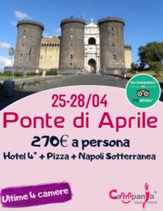 Ponte della Liberazione a Napoli da 270€