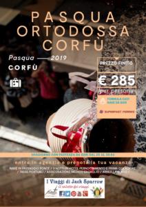 Pasqua Ortodossa a Corfù da 250€