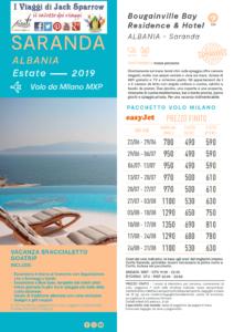 Vacanza a Saranda con Volo da Milano e Napoli
