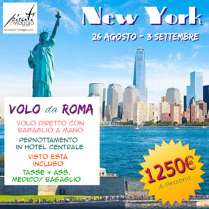 Super Promo – Agosto a New York