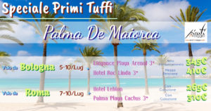 Speciale Primi Tuffi – Palma de Maiorca da 310€