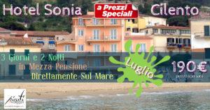 Hotel New Sonia 4* direttamente sul Mare da 190€