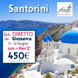 Super Offerta Grecia, Santorini da 450€