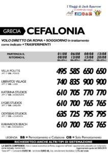 Grecia – Cefalonia da 495€