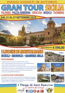 Gran Tour Sicilia – Sui Luoghi di Montalbano