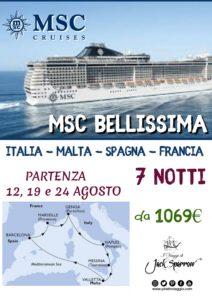 Tutti a Bordo di MSC Bellissima a partire da 1069€