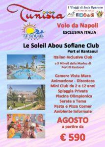 Tunisia con volo da Napoli a partire da 590€