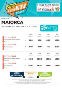 La tua Estate a Maiorca! da 590€ All Inclusive