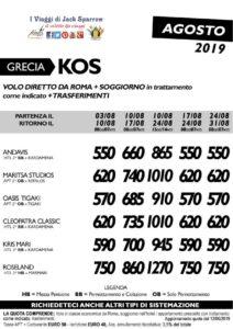 Vacanza in Grecia – Kos da 550€