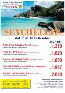 Settembre alle Seychelles con un mare da Sogno