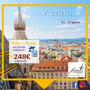 Agosto a Vienna da 240€ a persona