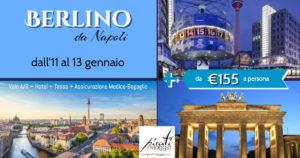 Vola a Berlino da Napoli da €155!
